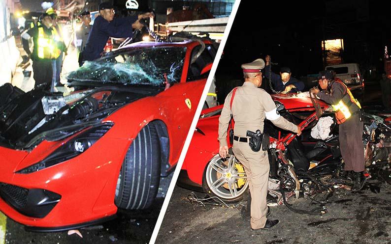 Multiple car breakdowns